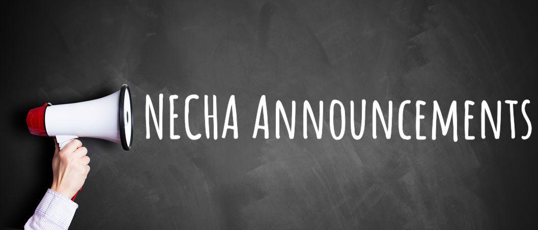 NECHA Announcements