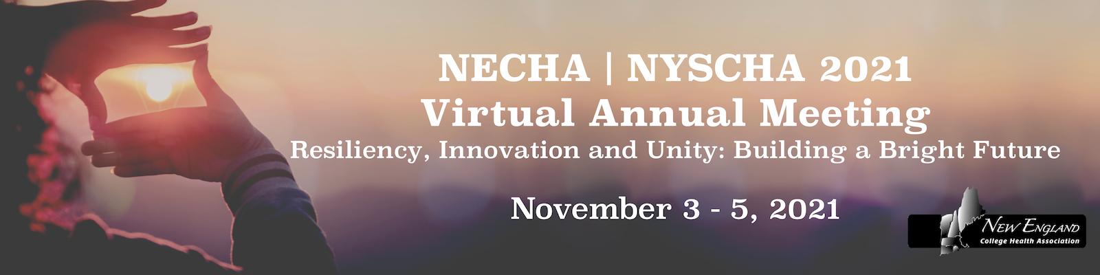 NECHA 2021 Web Banner CFP Virtual